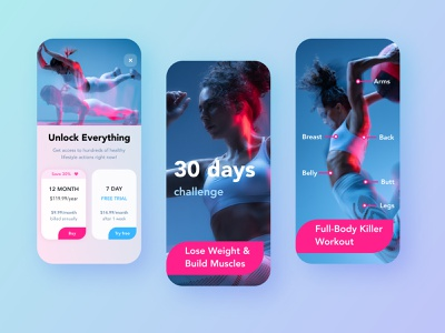 Sport app all Screens uiux ui splashpage splashscreen fitness app fitness appstore screens selling appstore product branding mobile interface sketch mobile app design mobile app mobile design mobile ui mobile sports design sports sport