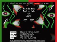 Fashion Film Festival Kyiv Website
