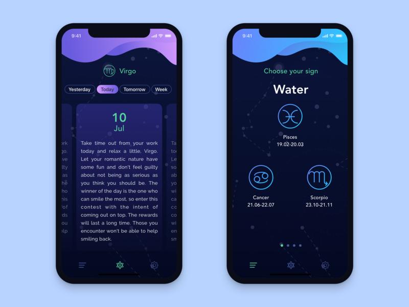 Horoscopes Mobile App