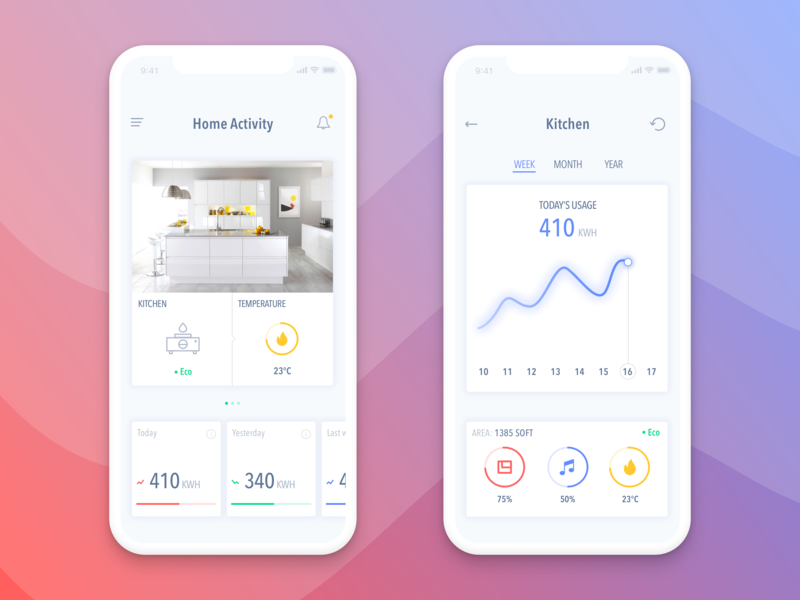 Clever House App simple clean interface mobile app iphone x app iphone x ios interface designer interface daily ui clever house clean app design challenge application ui application design app designers app designer app design app apps application app concept app