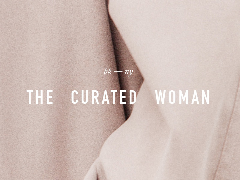 daily logo challenge · the curated woman logo design logo branding