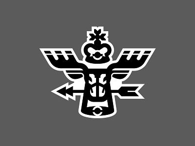Elk geometry animal monoline horns logo label print sticker cross crown arrow black monochrome deer elk