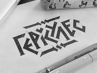Hercules logo sketch process sketch bear stout rome myth hercules lettering