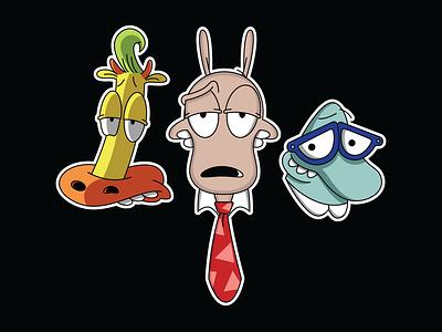 Good Cartoons rockosmodernlife cartoons 90s scorsese filbert heffer goodfellas gangster nickelodeon rocko