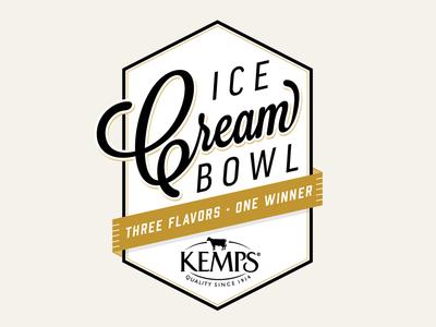 Kemps Ice Cream Bowl Flavor Vote Concept