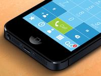 Calling iOS7
