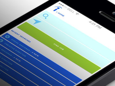 Indeed Re-imagined - Search search job app ios apple iphone ux ui