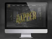 Dapper Barbershop Site