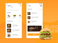 Food delivery App UI