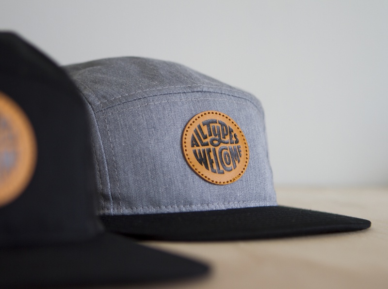 All Types Welcome 5-Panel - Grey