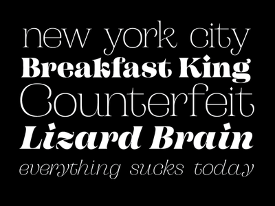 Campaign Serif - Update design branding typography typeface specimen fontsfontsfonts prerelease serif campaign font