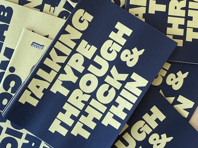 Through Thick & Thin font custom design newspaper book type fonts thick and thin specimen