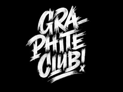 Graphite Club pencil pushers graphite club graphite ipad lettering