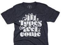 All Types Welcome Tee
