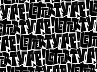Type Font Letter Pattern