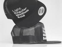 Light thru Bold in Black