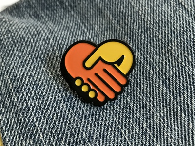Make Friends Pin