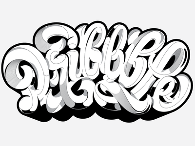 Dribbble Interview vector pencil pushers lettering blog dribbble interview