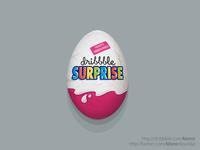a dribbble surprise egg.