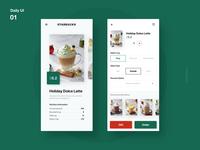 Daily UI_01_Starbucks