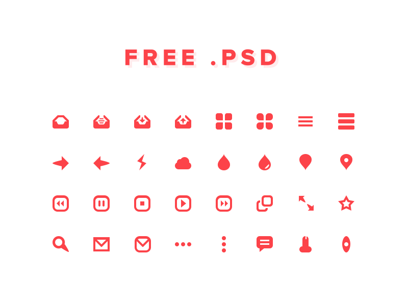 32 ICONS FOR FREE icons icon free psd download icon kit free psd 32px