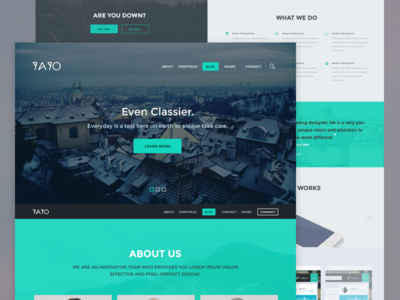 YAYO - Wordpress Theme (WIP)