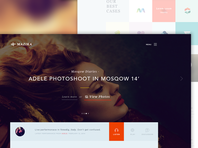 ☊ MAZIKA - Responsive Project