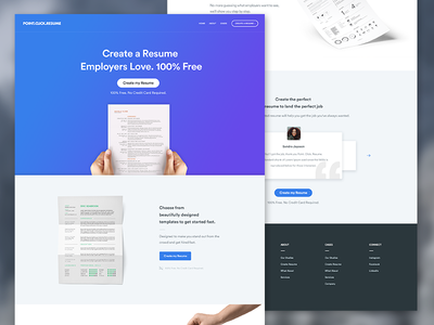 Updated Version / Landingpage