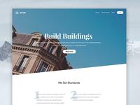 PSD Landingpage Template (WIP)