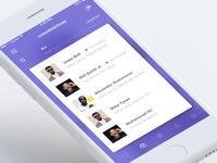 Messages / Conversation (Rise App)