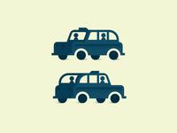 Busy Black Cab