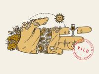 VILD Illustration for Brekeriet Beer