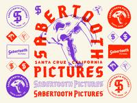 Sabertooth Pictures Branding