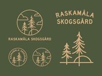 Raskamåla Skogsgård Branding System