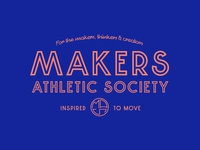 Makers Athletic Society - Main Logo