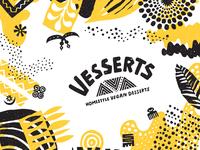 Vesserts Logo & Branding