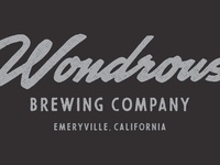 Wondrous Brewing Co - Wordmark