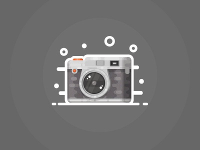 Camera icon traveling picture camping camp hiking journey camera