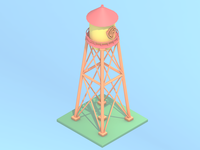 Animaniacs Water Tower