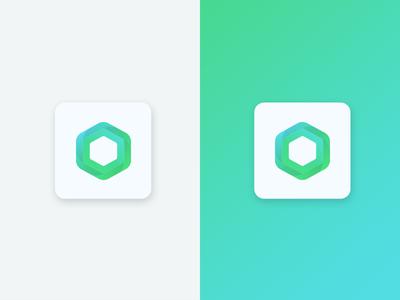 Daily UI challenge #5/100 icon ui interface flat day005 daily ui logo design app