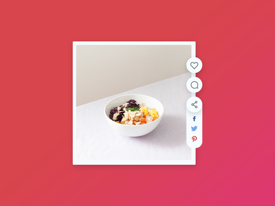 Daily UI challenge #10/100 uidesign web design ui  ux interface share flat day010 daily ui app