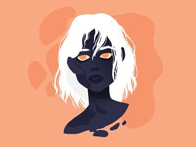 Zombie #inktober 6/31 horror undead zombies monster halloween woman girl zombie girl zombie illustration