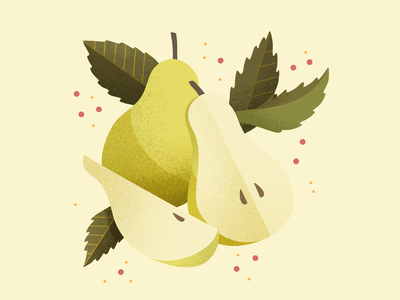 pears fruit logo drawing icons pear fruit illustration vector icon fruits friut