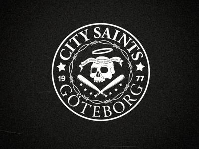 Saints logo rock punk