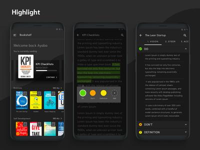 Highlight : eBook Reader