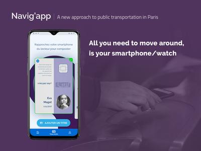 [UXC5] Navig'app : Your phone is the key