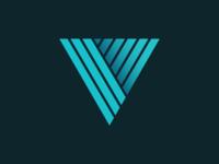 Letter V icon