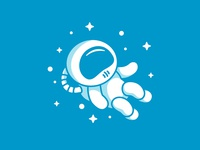 Cartoon Astronaut Icon