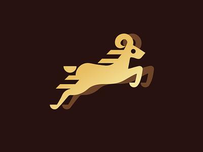Ram Icon ram animal branding newglue creative illustrator vector graphic logo illustration icon logo mark design