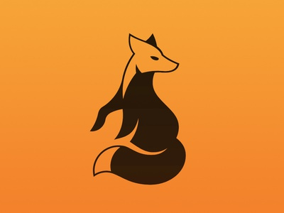 Fox Icon fox animal branding newglue creative illustrator vector graphic logo illustration icon logo mark design